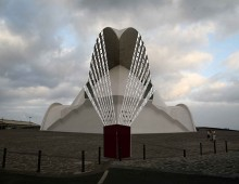 Lluvia Horizontal. Bienal de Canarias